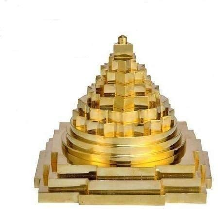 Shree Yantra Meru Yantra Brass By Timeshopee