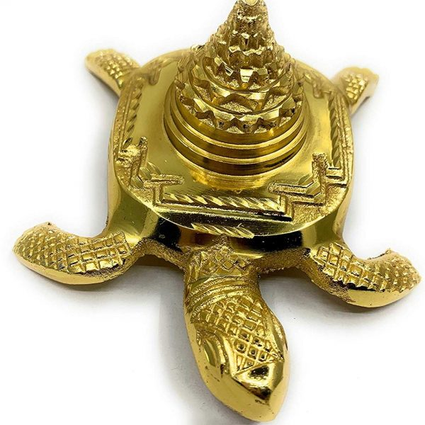 Feng Shui Lucky Charm Frog with Shree Yantra