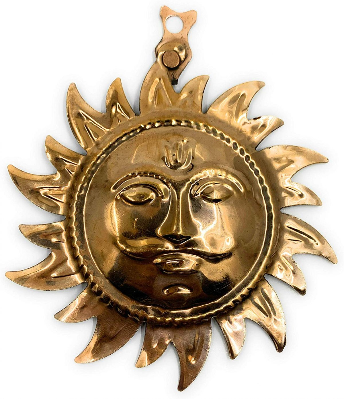 Sun Golden Wall Hanging/ Surya Dev Yantra