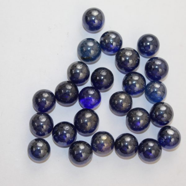 नीले कंचे - Blue Marbles 50 Pieces For Rahu By Timeshopee