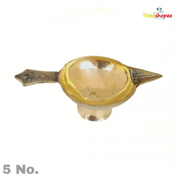 Brass Oil Puja Lamp-Jyot For Pooja By Timeshopee