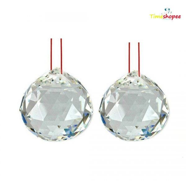 Set Of 2 Crystal Ball Wall Hanging By Timeshopee