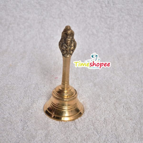 MetalCraft Brass Pooja Puja Bell Ghanti, for Poojan Purpose, Spiritual Gift Item