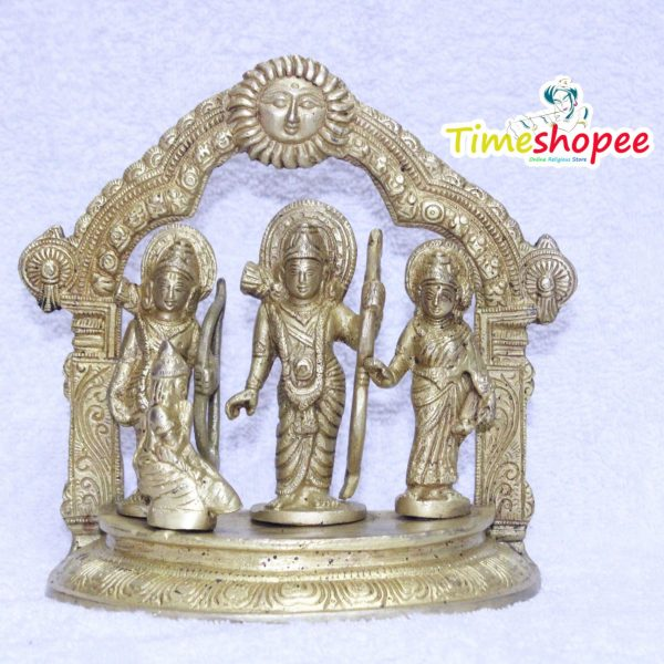 Ram Darbar Statue / Idol - Lord Rama Laxman And Sita Religious Indian Art Statue / Idol