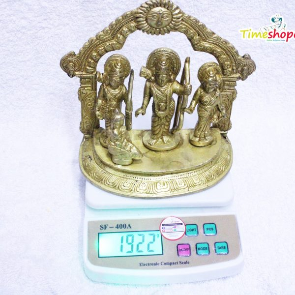 Ram Darbar Statue / Idol - Lord Rama Laxman And Sita Religious Indian Art Statue / Idol By Timeshopee