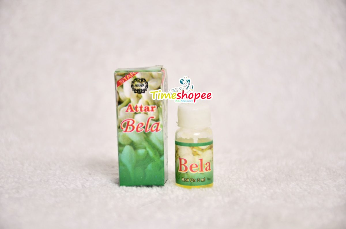 Bela Attar Roll-on For (3 ML) - Pure Natural Premium Quality Perfume By Timeshopee
