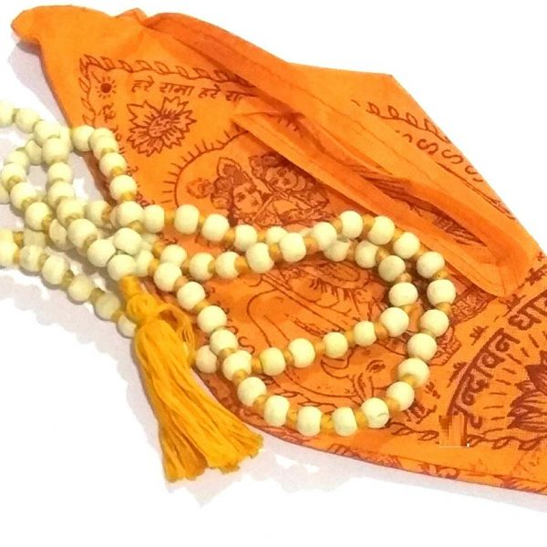Tulsi Japa Mala for wearing 108+1 beads Handmade Rosary