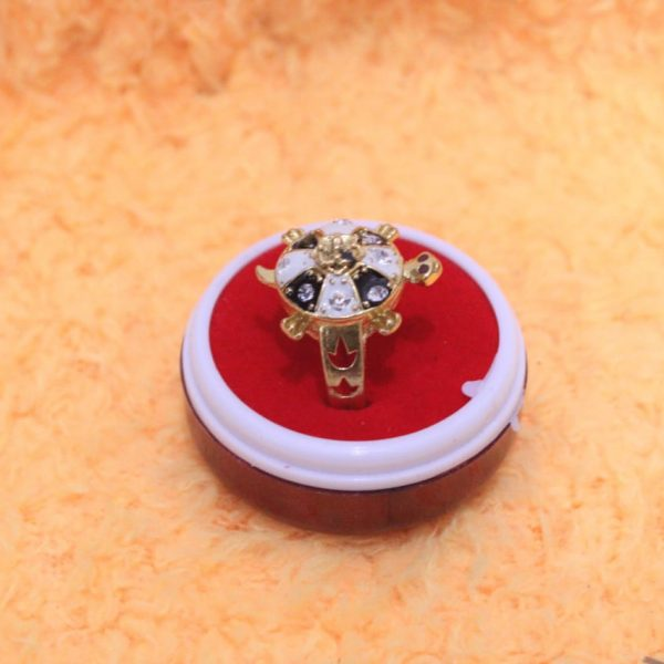 Tortoise Finger Ring By Timeshopee
