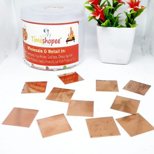 COPPER SQUARE PIECE BY TIMESHOPEE
