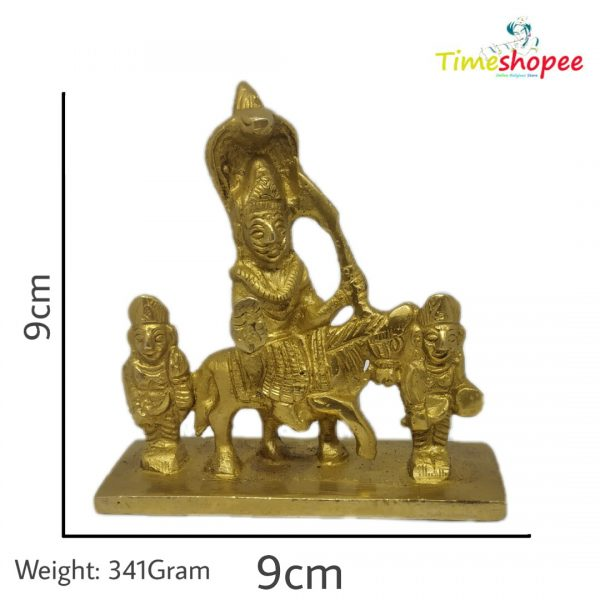 Goga Ji Brass God Idol By Timeshopee