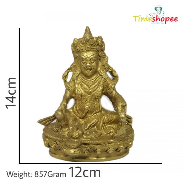 Kuber Idol in Brass