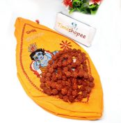 Combo Of Gomukhi Bag Krishna Gaumukhi Jap Bag With Rudraksha Mala