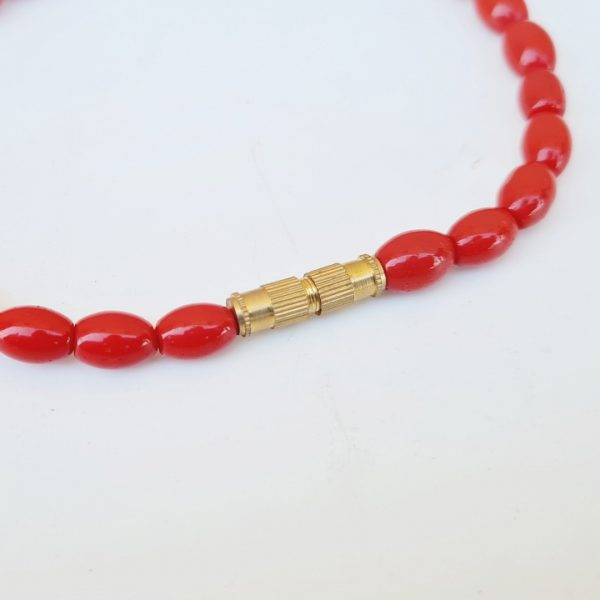 Lal Moonga Bracelet For Unisex