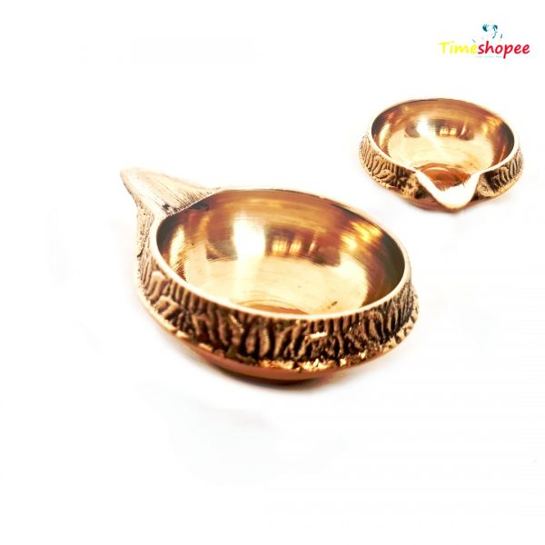 Brass Oil Lamp For Worship By Timeshopee