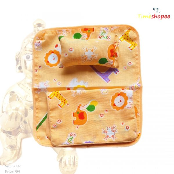 Laddu Gopal Bedsheet With Blanket & Pillow By Timeshopee